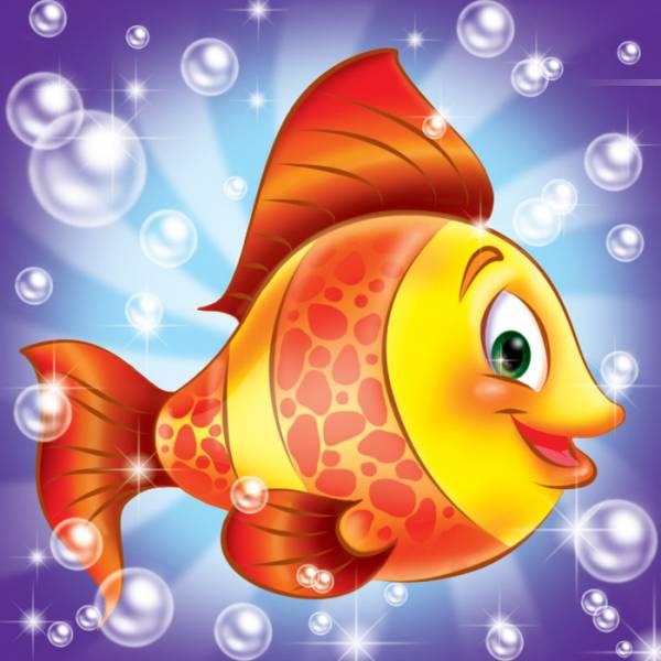 Картинка рыбки для детей красивые