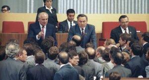 Горбачев Назарбаев туралы сұқбат берді